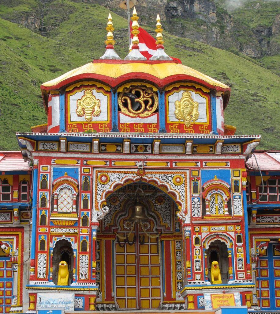 Vishnu Temple Badrinath Himalayas  - ganapathi_brahm / Pixabay